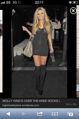 dress black mini dress
