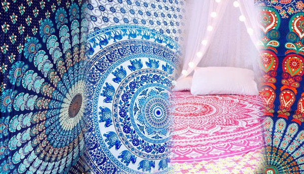 home accessory wall hanging indian tapestry mandala tapestry sunmoon tapestry home decor boho wall decor wall tapestry hippie wall hanging hippie bedspread