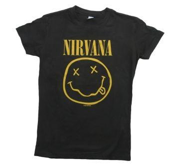 Womens Nirvana Smile Tissue T-Shirt