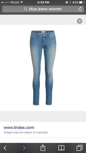 pants jeggings light blue