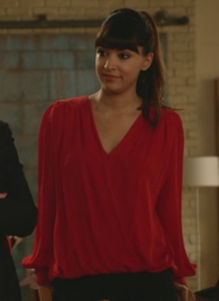 blouse new girl hannah simone