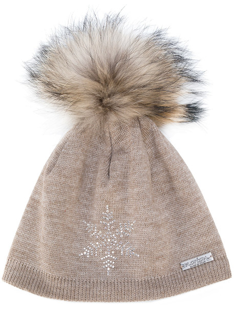 fur hat brown