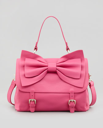 Red valentino buckled bow