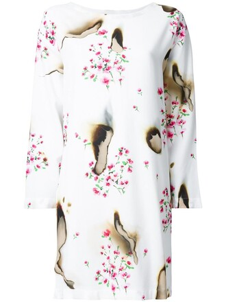 dress floral dress women floral white