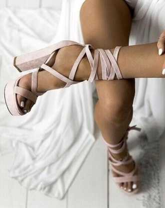 shoes pink rose heels sandals high heel sandals prom graduation