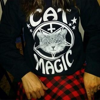 shirt cats grunge