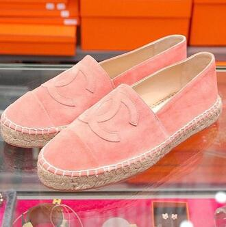 shoes flats pink sneakers