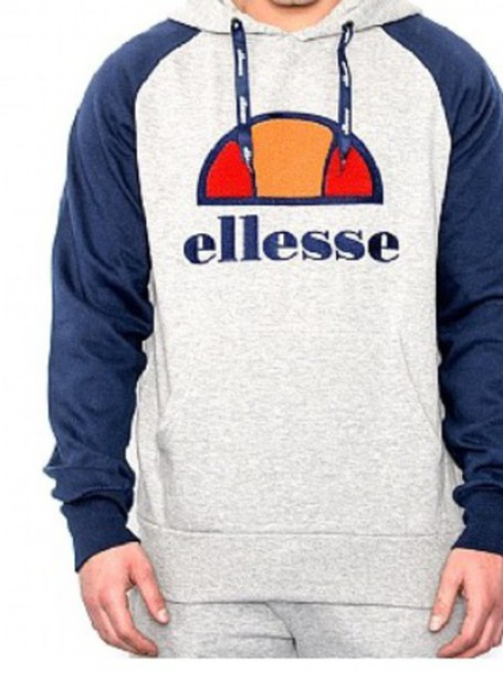 jacket grey blue ellesse