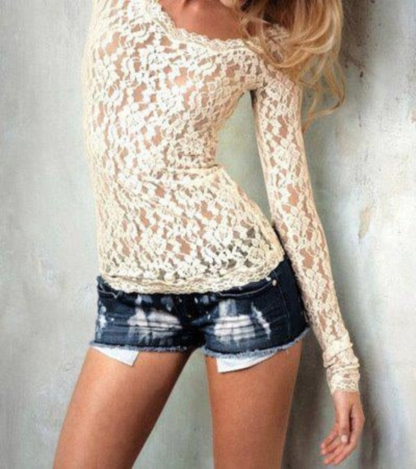 Scalloped Lace Top Scalloped Lace Top | Forever21