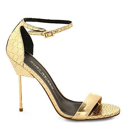 Belgravia leather sandals