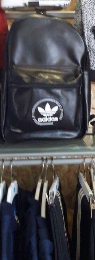 bag black adidas adidas originals originals black leather leather backpack leather backpack adidas leather black adidas