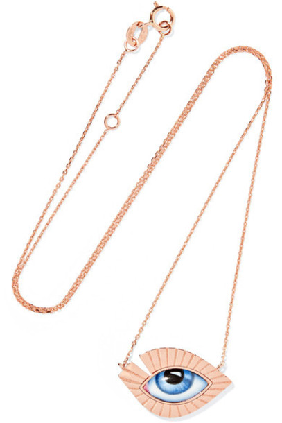 rose gold rose necklace gold jewels