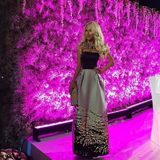 dress skirt top metallic skirt metallic dress silver dress silver skirt black dress long dress long skirt glitter dress