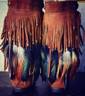 shoes,fringes,boots,low boots