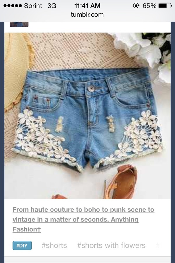 shorts flowered shorts cute