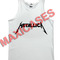 Metallica logo tank top men and women adult