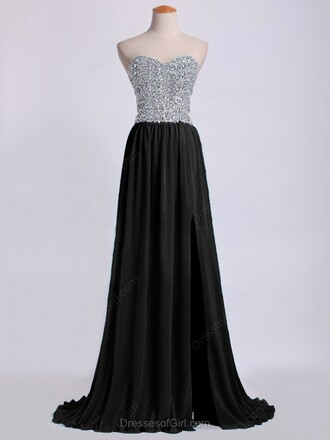 dress prom prom dress fashion style wow cute long long dress black dress crystal cute dress bridesmaid sparkle shiny maxi maxi dress off the shoulder sweet sweetheart dress sexy sexy dress amazing dressofgirl black