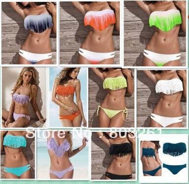 S M L 8 colors 2014 Sexysummer bikinis lingerie Fashion women bikini swimwear beachwear free  shipping-in Bikinis Set from Apparel & Accessories on Aliexpress.com