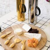 home accessory,cheese knives,entertaining,unison,cheese board set,cheese