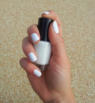 nail polish nails white white nails white nail polish white nailpolish summer
