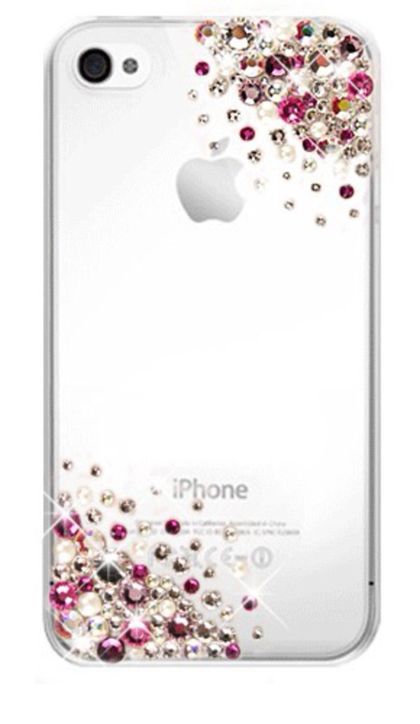 jewels iphone case bedazzled