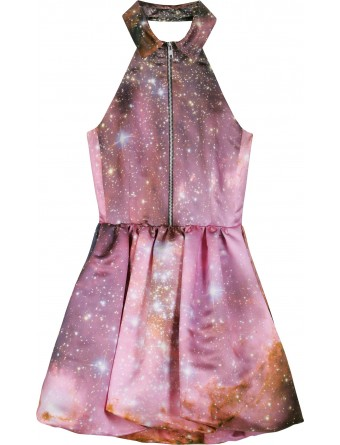 Christopher kane outer space motif mini for Outer space clothing