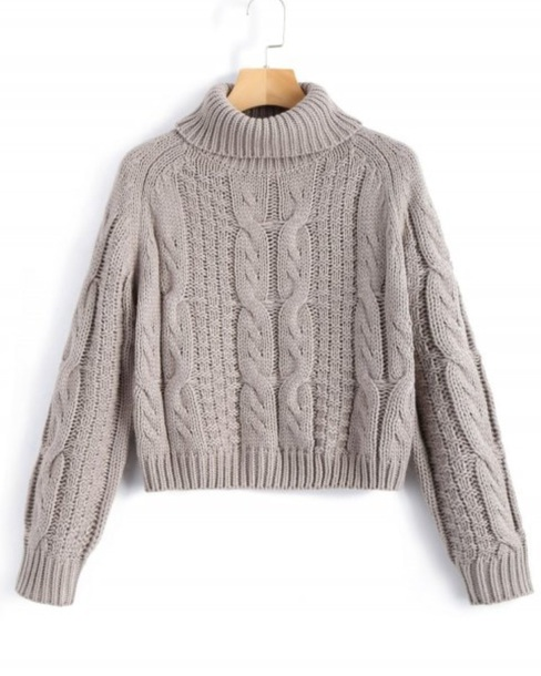 sweater girly sweatshirt crop cropped cropped sweater turtleneck turtleneck sweater knitwear knit knitted sweater