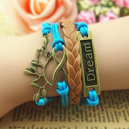 Infinity  dream bracelet