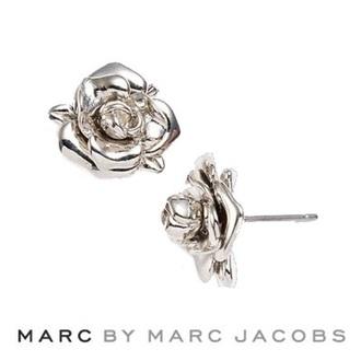 jewels earrings studs silver pearl rose rose earrings
