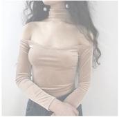 blouse,girly,crop tops,crop,cropped,velvet,off the shoulder,off the shoulder top,long sleeves,velvet top