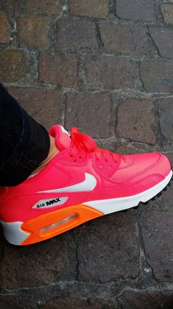 shoes pink airmax
