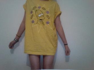 t-shirt simpson t-shirt