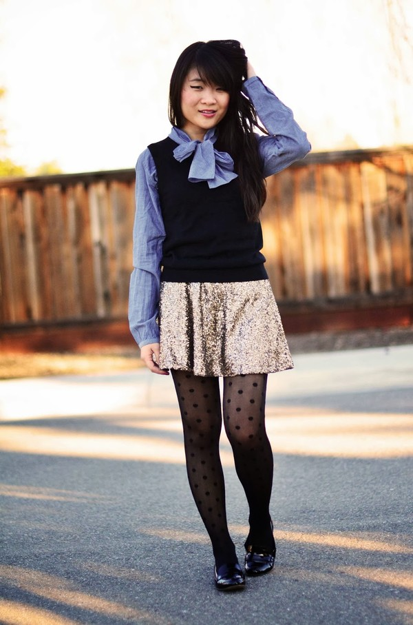 daily disguise skirt shirt jacket shoes