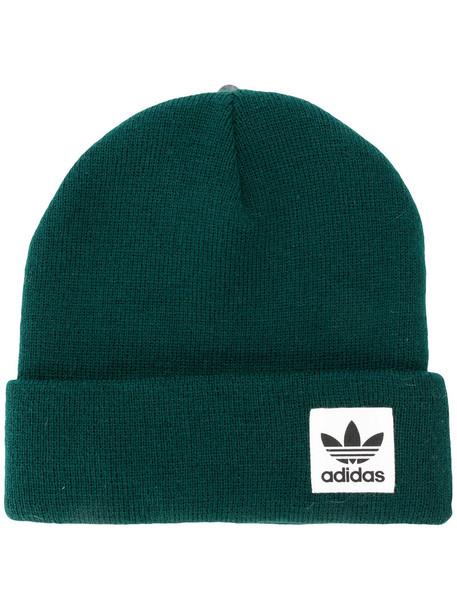 Adidas women beanie green hat