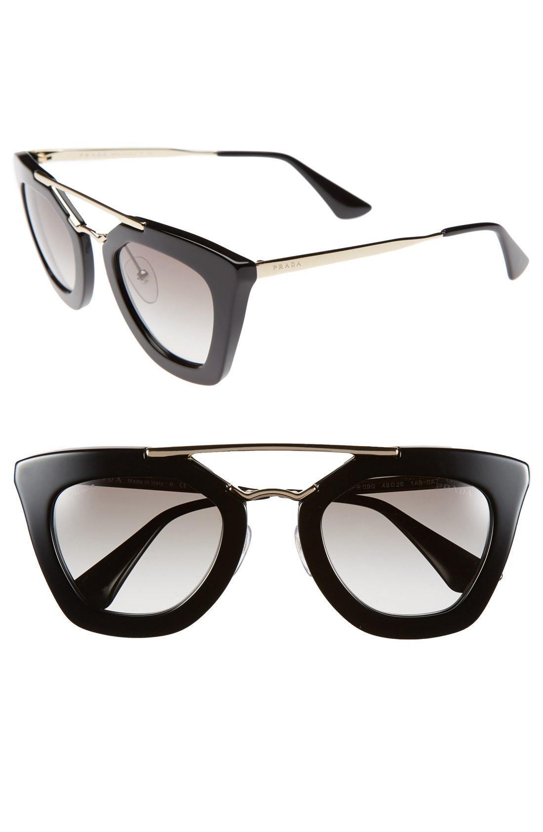 Glasses Frames Nordstrom : Prada 49mm Retro Sunglasses Nordstrom