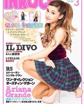 ariana grande,top,plaid skirt,pumps,velvet top