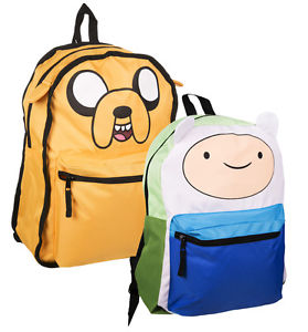 Official Adventure Time Jake and Finn Reversible Backpack | eBay
