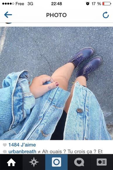 jeans jacket jeans jacket grunge