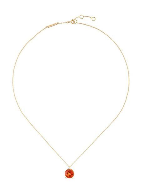 Delfina Delettrez triangle women magic necklace diamond necklace gold yellow grey metallic jewels