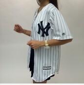 jacket,baseball,baseball jacket,adidas,jordans,women,nike,yankees,yankees tank top,jersey,top,urban,t-shirt