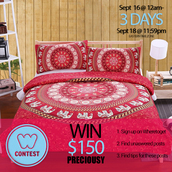 home accessory,preciousy,contest,summer giveaway,bedroom pictures