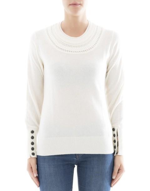 Burberry sweatshirt white sweater