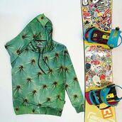 sweater,hoodie,hooded sweater,green hoodie,printed hoodie,full print hoodie,all over print hoodie,cactus print,cactus,floral,floral print hoodie,floral hoodie,womens hoodie,women,women hoodie,fusion