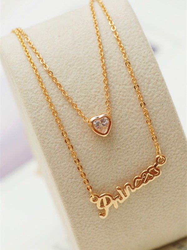 jewels princess necklace