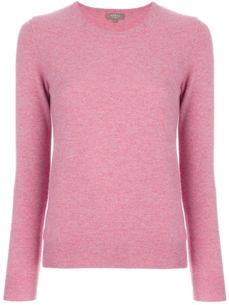 N.Peal sweater women purple pink