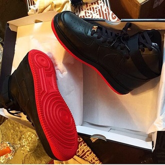 shoes air jordan nike nike shoes nike air force 1 nike air force one sneakers black shoes urban black chris brown fabulous big sean