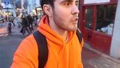 jacket,jumper,hoodie,orange,warm,beige,dark green,youtube,alfie deyes,pointlessblog,zoella,fashion,warm sweater,winter outfits,style,streetstyle,youtuber,sweater,basic,bright,quality,streetwear,loud