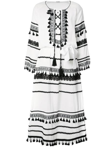 Dodo Bar Or Ida Dress.Dodo Bar Or Malka Dress Women S Size Medium White Cotton