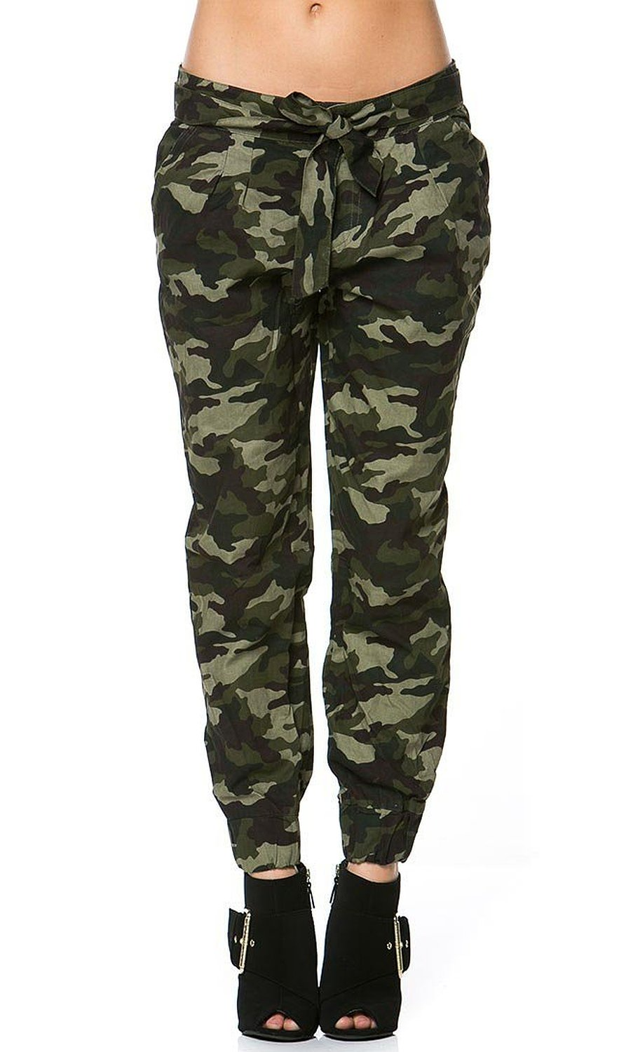 Amazing Womens Military Look Comfortable Camouflage Cargo Jogger Pants 21524 | EBay