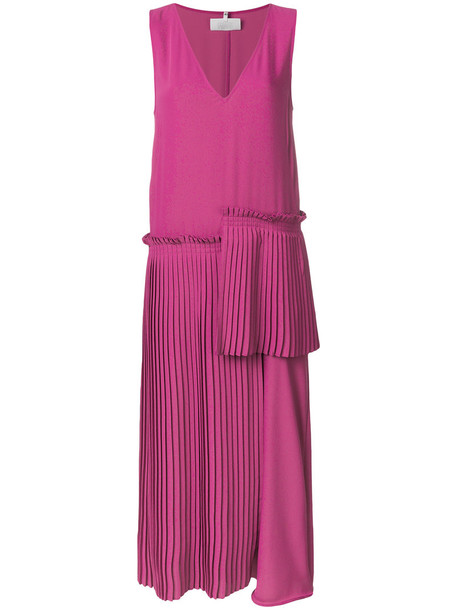 Mm6 Maison Margiela skirt pleated skirt pleated women purple pink